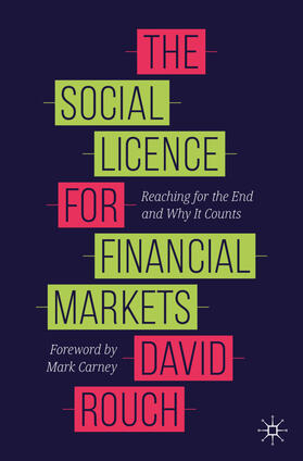 Rouch | The Social Licence for Financial Markets | Buch | sack.de