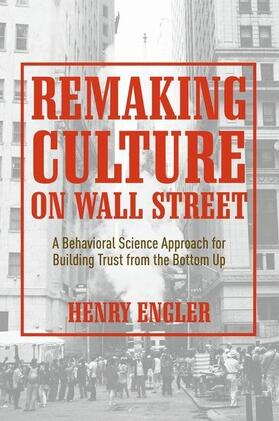 Engler | Remaking Culture on Wall Street | Buch | sack.de