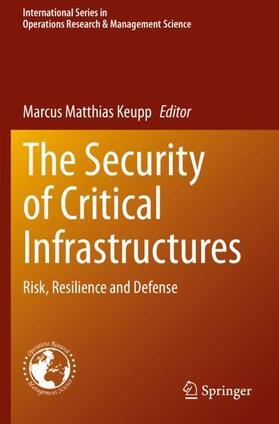 Keupp   The Security of Critical Infrastructures   Buch   sack.de