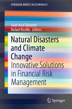 Durante / Rosillo | Natural Disasters and Climate Change | Buch | sack.de
