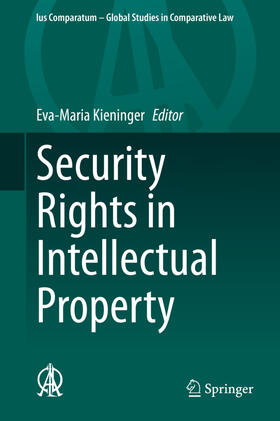 Kieninger | Security Rights in Intellectual Property | Buch | sack.de