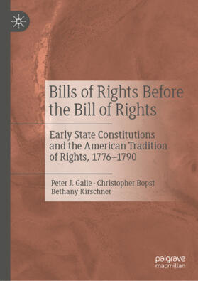 Galie / Bopst / Kirschner | Bills of Rights Before the Bill of Rights | Buch | sack.de
