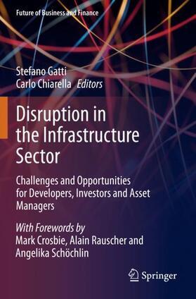 Chiarella / Gatti   Disruption in the Infrastructure Sector   Buch   sack.de