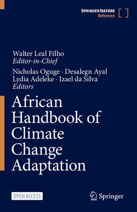 Leal Filho / Oguge / Ayal   African Handbook of Climate Change Adaptation   Buch   sack.de