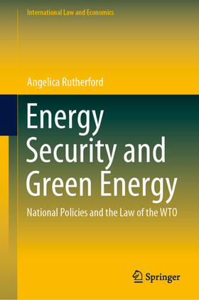Rutherford | Energy Security and Green Energy | Buch | sack.de