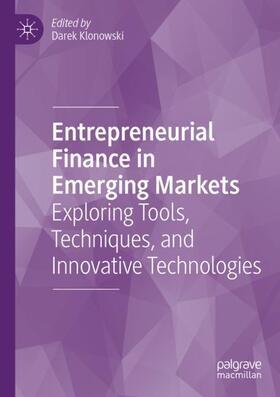 Klonowski   Entrepreneurial Finance in Emerging Markets   Buch   sack.de