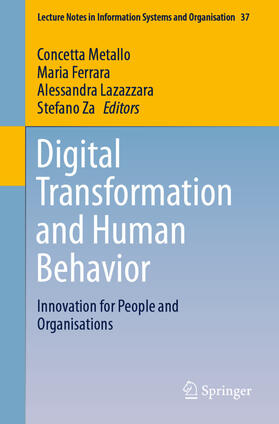 Metallo / Ferrara / Lazazzara   Digital Transformation and Human Behavior   Buch   sack.de