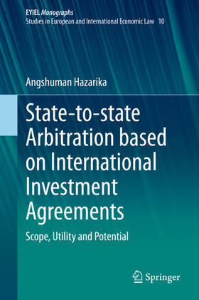 Hazarika | State-to-state Arbitration based on International Investment Agreements | Buch | sack.de