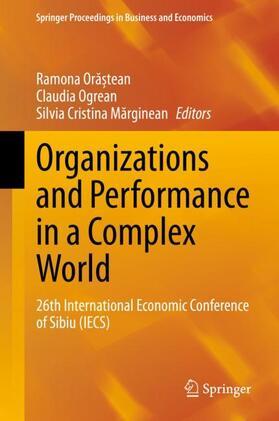 Marginean / Ogrean / Ora?tean   Organizations and Performance in a Complex World   Buch   sack.de