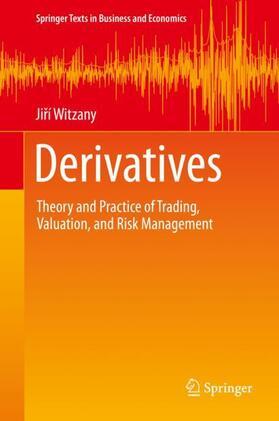 Witzany / Witzany | Derivatives | Buch | sack.de