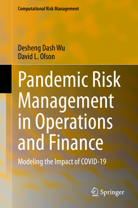 Wu / Olson | Pandemic Risk Management in Operations and Finance | Buch | sack.de