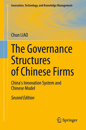 LIAO | The Governance Structures of Chinese Firms | Buch | sack.de