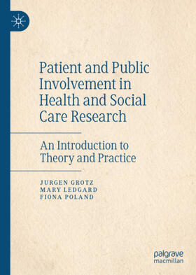 Grotz / Ledgard / Poland | Patient and Public Involvement in Health and Social Care Research | Buch | sack.de
