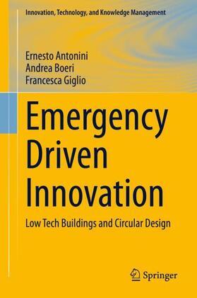 Antonini / Giglio / Boeri   Emergency Driven Innovation   Buch   sack.de