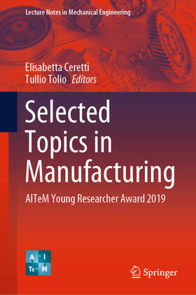 Ceretti / Tolio | Selected Topics in Manufacturing | Buch | sack.de