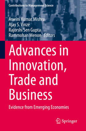 Mishra / Vinzé / Gupta | Advances in Innovation, Trade and Business | Buch | sack.de