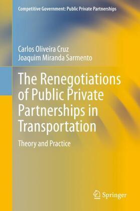 Miranda Sarmento / Oliveira Cruz | The Renegotiations of Public Private Partnerships in Transportation | Buch | sack.de