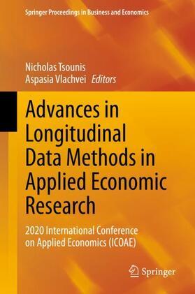Tsounis / Vlachvei | Advances in Longitudinal Data Methods in Applied Economic Research | Buch | sack.de