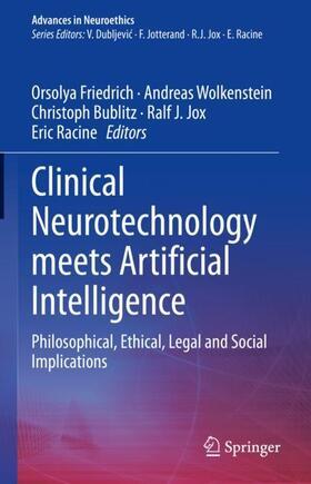 Friedrich / Wolkenstein / Bublitz | Clinical Neurotechnology meets Artificial Intelligence | Buch | sack.de