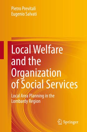 Previtali / Salvati   Local Welfare and the Organization of Social Services   Buch   sack.de