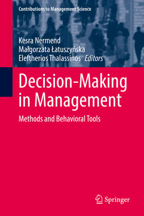 Nermend / Latuszynska / Tahlassinos | Decision-Making in Management | Buch | sack.de