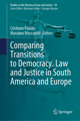 Paixão / Meccarelli | Comparing Transitions to Democracy. Law and Justice in South America and Europe | Buch | sack.de