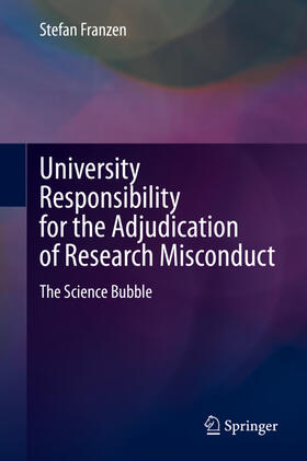 Franzen | University Responsibility for the Adjudication of Research Misconduct | Buch | sack.de