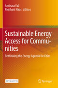 Fall / Haas |  Sustainable Energy Access for Communities | Buch |  Sack Fachmedien