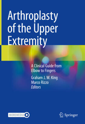 King / Rizzo   Arthroplasty of the Upper Extremity   Buch   sack.de