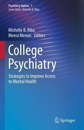 Riba / Menon   College Psychiatry   Buch   sack.de