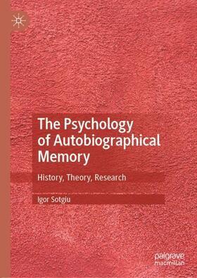 Sotgiu | The Psychology of Autobiographical Memory | Buch | sack.de