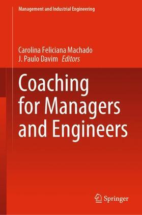 Machado / Davim | Coaching for Managers and Engineers | Buch | sack.de