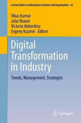 Kumar / Kuzmin / Akberdina | Digital Transformation in Industry | Buch | sack.de