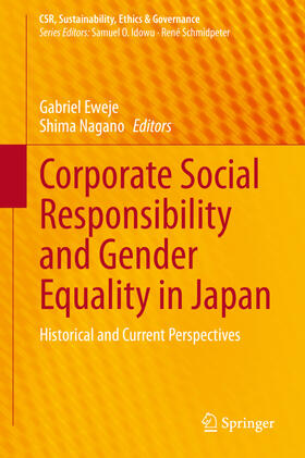 Eweje / Nagano | Corporate Social Responsibility and Gender Equality in Japan | Buch | sack.de