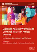 Lubaale / Budoo-Scholtz |  Violence Against Women and Criminal Justice in Africa: Volume I | Buch |  Sack Fachmedien