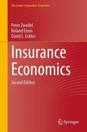Zweifel / Eckles / Eisen   Insurance Economics   Buch   sack.de