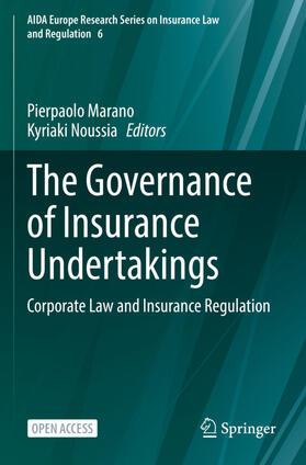 Marano / Noussia | The Governance of Insurance Undertakings | Buch | sack.de