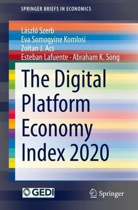 Acs / Szerb / Lafuente   The Digital Platform Economy Index 2020   Buch   sack.de