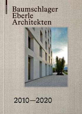 Tröger | Baumschlager Eberle Architekten 2008-2019 | Buch | sack.de