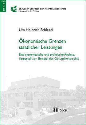 Schlegel   Ökonomische Grenzen staatlicher Leistungen   Buch   sack.de