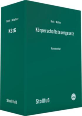 Bott / Walter | Körperschaftsteuergesetz: KStG, ohne Fortsetzungsbezug | Loseblattwerk | sack.de