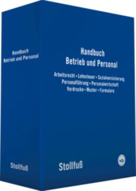 | Handbuch Betrieb und Personal, ohne Fortsetzungsbezug | Loseblattwerk | sack.de