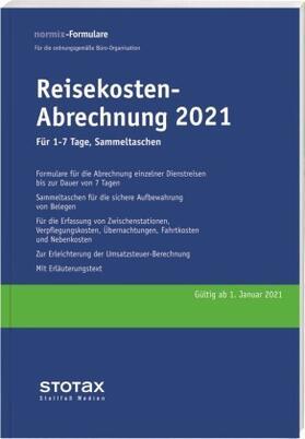 Reisekosten-Abrechnung 2021, für 1-7 Tage, Sammeltaschen | Buch | sack.de