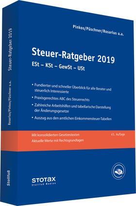 Henseler / Pinkos / Püschner | Steuer-Ratgeber 2019 | Buch