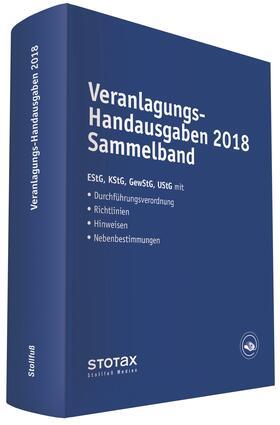 Dorn / Huhn / Karthaus | Veranlagungs-Handausgaben 2018 Sammelband | Buch | Sack Fachmedien
