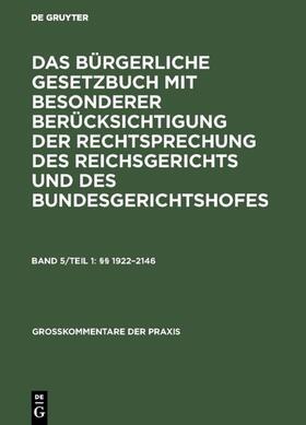 §§ 1922–2146   Buch   sack.de