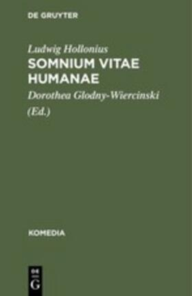 Hollonius / Glodny-Wiercinski | Somnium Vitae Humanae | Buch | sack.de
