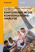 Auer / Bauer / Birkner    Einführung in die Konversationsanalyse, m. CD-ROM   Buch    Sack Fachmedien