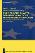 Lebsanft / Wingender    Europäische Charta der Regional- oder Minderheitensprachen   eBook   Sack Fachmedien