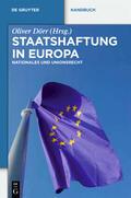 Dörr |  Staatshaftung in Europa | Buch |  Sack Fachmedien